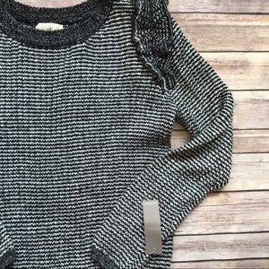 Nordstrom Sweaters - Sophie Rue MacKenzie Sweater in Black and White